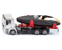 Truck with motor boat 1:50