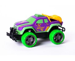 R/C Gallop Beast Rapidly 1:18  27Mhz purple/green