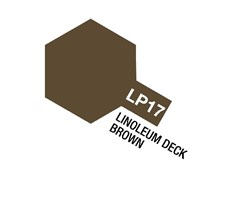 Tamiya Lacquer Paint LP-17 Linoleum Deck Brown