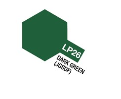 Tamiya Lacquer Paint LP-26 Dark Green (JGSDF)