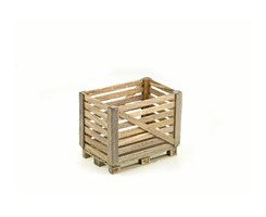 1:14 Wooden Pallet-Cage with Europallet