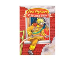 Malebog A4 Fire Fighters 16 sider